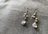 pearl mix pierce(earring)