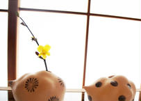 オノマトペ 磁製白雲型花器