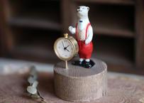 クマの置時計