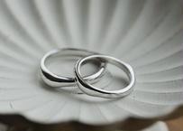 【Pt900】Water : Ring (Large)