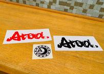 Atoa.ステッカー3枚組