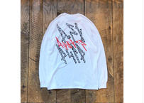 """Attractions """"POST PULP"""" L/S Tee(Body:White)"""