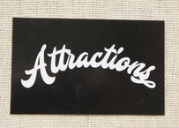 Attractions Logo Sticker