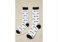 Attractions Logo Socks(Base:White)