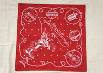 Attractions Bandana(Base:Red or Navy)