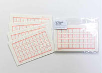 No.3 typo CARD  朱