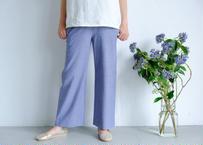 【si:m】シェルタリング ワイドパンツ  #Blue