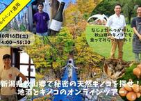 10月16日  S 秋山郷ノンアルセット 6,000円 ⇒ Go Toイベント適用価格 4,800円