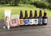 【大山Gビール】大山Gビール6本&大山ハム2種