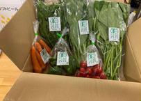 【FB穂波】三島ファームの有機野菜お任せ6種