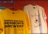 Session's Brewery オリジナルTシャツ