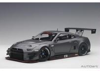 AUTOart 1/18 日産 GT-R NISMO GT3 (ダーク マット・グレー) 81583