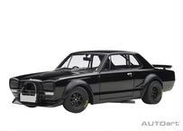 AUTOart 1/18 日産 スカイライン GT-R (KPGC10) レーシング 1972 (ブラック) 87278