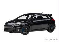 AUTOart 1/18 フォード フォーカス RS (ブラック) 72952