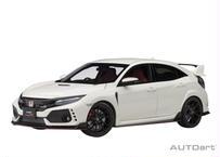 AUTOart 1/18 ホンダ シビック タイプR (FK8) 2017 (チャンピオンシップホワイト) 73266
