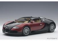 AUTOart 1/18 ブガッティ ヴェイロン #001 (レッド/ブラック) ※ベージュ・インテリア 70909