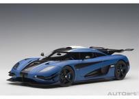 AUTOart 1/18 ケーニグセグ One:1 (マット・ブルー/カーボンブラック/ホワイト) 79018