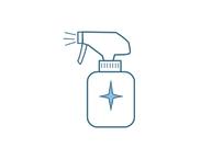 感染予防対策イラスト…「消毒薬」