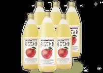 りんごジュース【飲みくらべ】6本セット (ふじ3本・陽光3本)