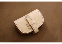 本革サドルレザーのミニ財布