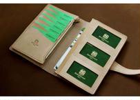 本革サドルレザーのおくすり手帳母子手帳ケース