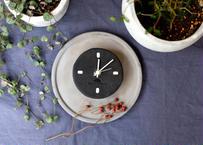 Wall clock【calmare】-S size-/ #Nero