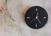 Wall clock【calmare】-M size-/ #Nero