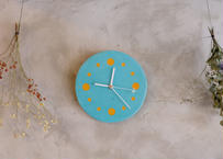 Wall clock【calmare】/ #Turquoise