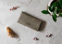 Compact Long Wallet 【 castello 】/  Grigio