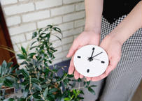 Wall clock【calmare】-S size-/ #White