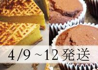 【4/9~4/12発送】特別焼菓子セット
