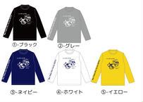 ウミウシ&丑 ドライロングTシャツ 2枚セット