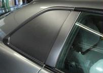 SHAFT AutoService R34スカイライン クーペ用 カーボンサイドウィンドウ(ドライカーボン)