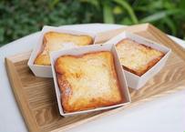 【博多っと】フレンチトースト3個セット(メープルシロップ付)