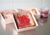 【博多っと】あまおうフレンチトースト(イチゴソース付き)  (地域によって送料が異なります)