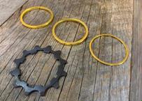 Titanium Cog Set Single Speed Set