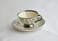 【Vintage】 Silver Filigree Cup&Saucer