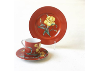 """Vintage """"TIFFANY & CO. by SYBIL CONNOLLY"""" Demitasse & Cake Plate"""