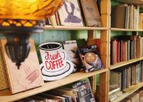 【Vintage】Coffee Cup Metal Signbord