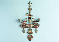 【Vintage】Greek Brass Wall hanging Candle Holder