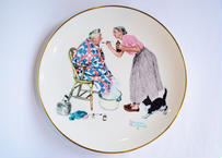 "Vintage U.S.A. Plate Norman Rockwell ""SPRING TONIC"""