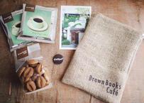 麻袋巾着入りコーヒー豆クッキー&ドリップバッグ