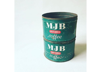 U.S.A. Vintage ''MJB'' Coffee Tincan(1lbs×2)