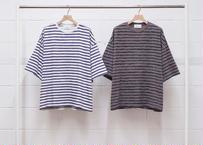 s/s print border t-shirt