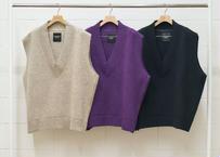 7G v neck knit vest