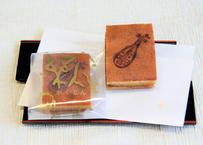 アーモンドケーキ「楽人」(がくじん)10個入