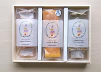 [お誕生日BOX]無添加バウムクーヘン3種食べくらべギフト
