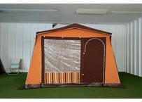 【1811109】メーカー不明  ドイツ製 サイドオーンング・テント