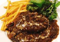 鹿児島黒牛のハンバーグ特製ハヤシソース