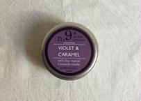 CERABELLA  ティンキャンドル No.9 <violet&caramel>